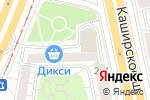 Схема проезда до компании Kulibinoff.ru в Москве