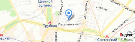 Мангостин на карте Москвы