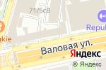 Схема проезда до компании ГенЛекс в Москве