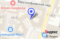 Схема проезда до компании САЛОН МЕБЕЛИ ИГРОНИК в Москве