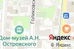 Схема проезда до компании Адвокатский кабинет Тетерникова С.Л. в Москве