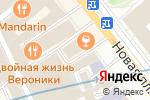 Схема проезда до компании Атлантис Лайн в Москве