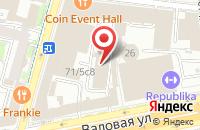 Схема проезда до компании Большая Книга-Спб в Москве