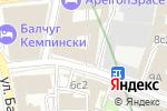 Схема проезда до компании СапСервис в Москве