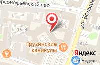 Схема проезда до компании Инвест-Марвик в Москве