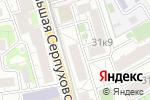 Схема проезда до компании Быстро бери в Москве