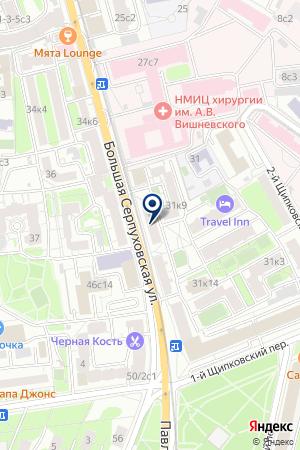 НЕЗАВИСИМЫЙ ФИНАНСОВЫЙ КЛУБ на карте Серпухова