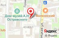 Схема проезда до компании Издательство Тпо Интерфейс в Москве