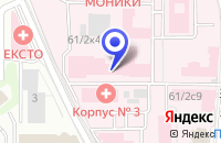 Схема проезда до компании УЧЕБНО-МЕТОДИЧЕСКИЙ ЦЕНТР МАРЫСЯ в Москве