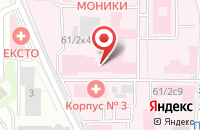 Схема проезда до компании Марыся в Москве