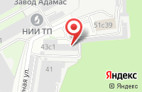Схема проезда до компании Копирайт в Москве