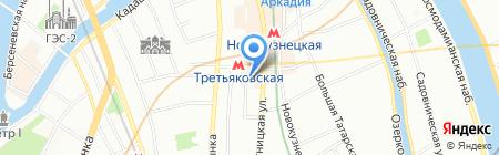 Ларуссия на карте Москвы