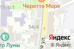 Схема проезда до компании ЕвроИнвест в Москве