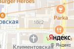 Схема проезда до компании Две палочки в Москве