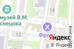 Схема проезда до компании ССТ Климат в Москве