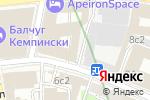 Схема проезда до компании СБ Банк в Москве
