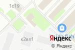 Схема проезда до компании Серебро Мира в Москве