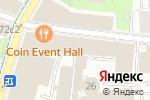 Схема проезда до компании BrandProduction в Москве