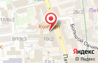 Схема проезда до компании Евроторг в Москве