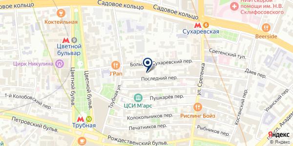 Красная линия на карте Москве