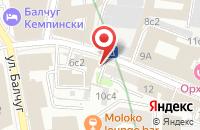 Схема проезда до компании Редлайн Мотор Спорт в Москве