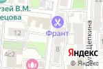 Схема проезда до компании Прикладное Образование в Москве