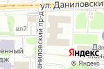 Схема проезда до компании Даниловские Мастерские в Москве