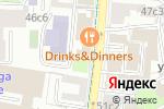Схема проезда до компании Infraone в Москве