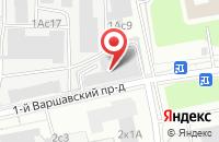 Схема проезда до компании Капитал-Сервис в Москве
