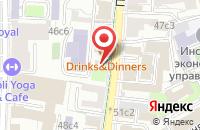 Схема проезда до компании Эксодус в Москве
