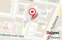 Схема проезда до компании Вера-Лотос в Москве