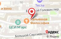 Схема проезда до компании Эйси Продакшен в Москве