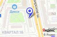 Схема проезда до компании ОДС № 153 в Москве