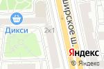 Схема проезда до компании АртТайл в Москве