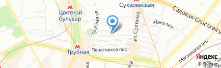 ПушкаревЪ на карте Москвы