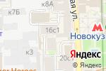Схема проезда до компании Remedy в Москве