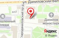 Схема проезда до компании Благотворительный Фонд Мени Святителя Григория Богослова в Москве