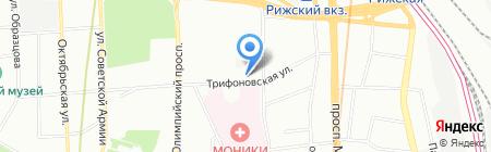 Камея-ЧПУ на карте Москвы