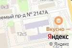 Схема проезда до компании РозАрт в Москве