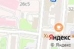 Схема проезда до компании Федеральное агентство по делам Содружества Независимых Государств в Москве
