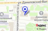 Схема проезда до компании АРХИТЕКТУРНАЯ ФИРМА АРХХРАМ в Москве