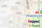 Схема проезда до компании CHESTER в Москве