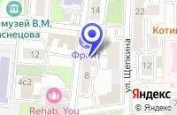 Схема проезда до компании АПТЕКА ЛАДО в Москве