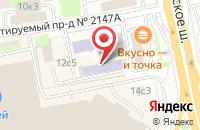 Схема проезда до компании Курортная Жизнь в Москве