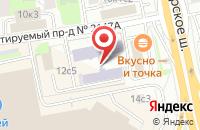 Схема проезда до компании Мини-Шед в Домодедово