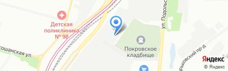 АГАТ-АВТО на карте Москвы