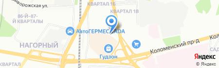 Планета весов на карте Москвы