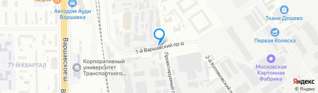проезд Варшавский 1-й