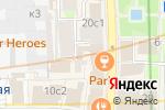 Схема проезда до компании Комфорт-Москва в Москве