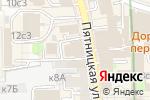 Схема проезда до компании ЮниКредит Банк в Москве